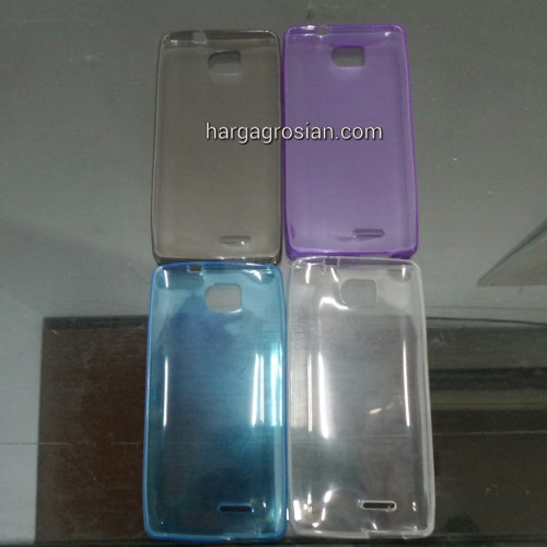 Ultra Thin Case FDT Andromax Qi - Bahan Silikon / SoftShell