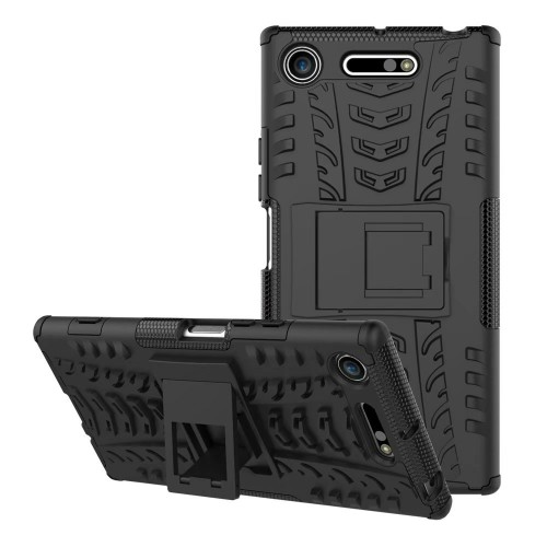 Sony XZ1 Compact - Rugged Armor Stand / Hybrid / Dazzle Cover / Shockproof