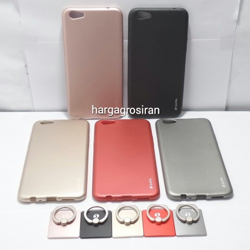 Silikon Spotlite Oppo F3 Plus / Soft Case Copper Jelly