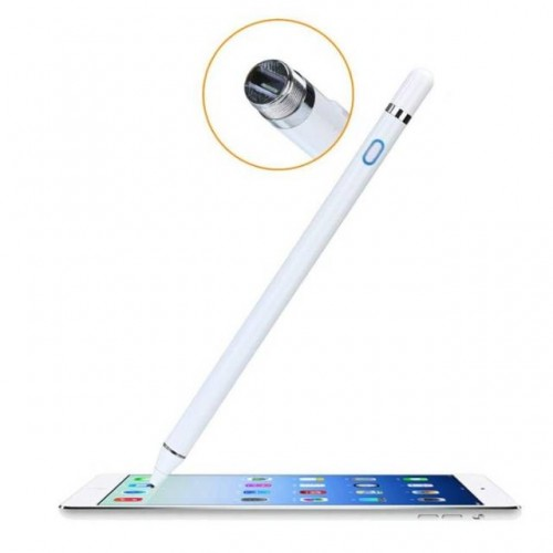 Stylus Pen Drawing Universal Ujung Lancip Active Touch Screen Rechargeable Capacitive Samsung STRDY