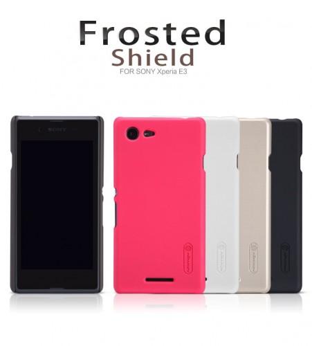 Hardcase Nillkin Super Frosted Shield Sony Xperia E3