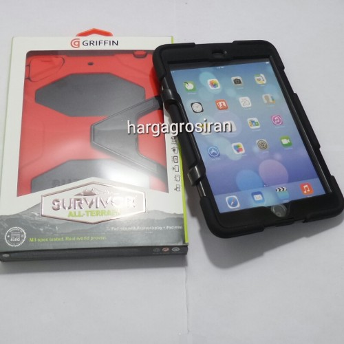 Survivor Case - Ipad Mini / Ipad Mini 2 / Ipad Mini 3 / Back / Cover / Anti Banting / Kokoh - STGRS