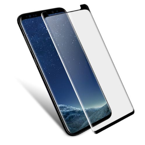 Tempered Glass Samsung S9 + / S9 Plus Full Layar / Curved / Anti Gores Kaca