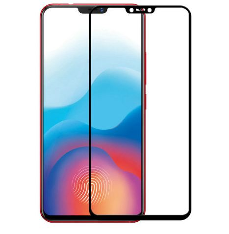 Tempered Glass Vivo V9 / Full Body / Full Lem Anti Gores Kaca