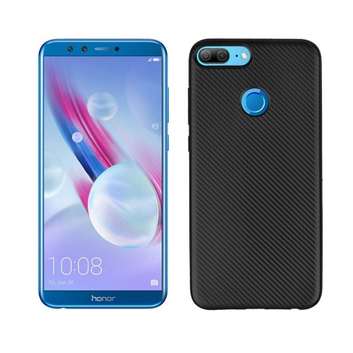 TPU Carbon Honor 9 Lite / Softshell / Cover / Sillicone Casing Black Ver.3