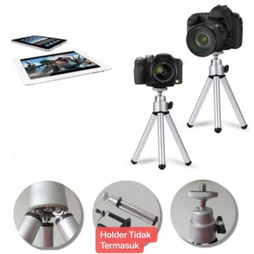TRP-023 Tripod mini pc camera/camera plog tanpa holder
