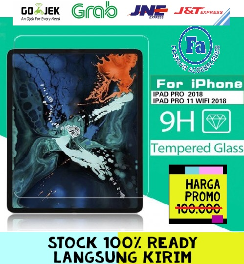 ABT-02 Tempered Glass Std Tablet Ipad Pro 11 Inch / Anti Gores Kaca STRDY
