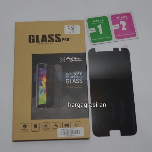 Tempered Glass FS SPY Samsung A510 / A5 2016 / Anti Gores Kaca Private TIDAK ADA GARANSI PECAH