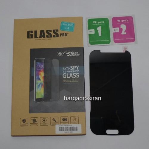 Tempered Glass FS SPY Samsung Galaxy S4 - i9500 / Anti Gores Kaca Private TIDAK ADA GARANSI PECAH