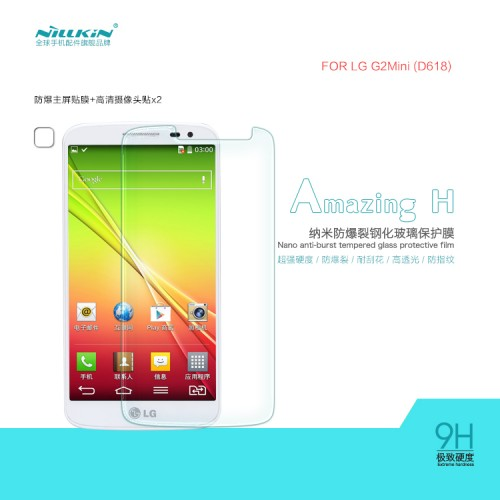 Anti Gores Kaca / Tempered Glass Nillkin H LG G2 Mini