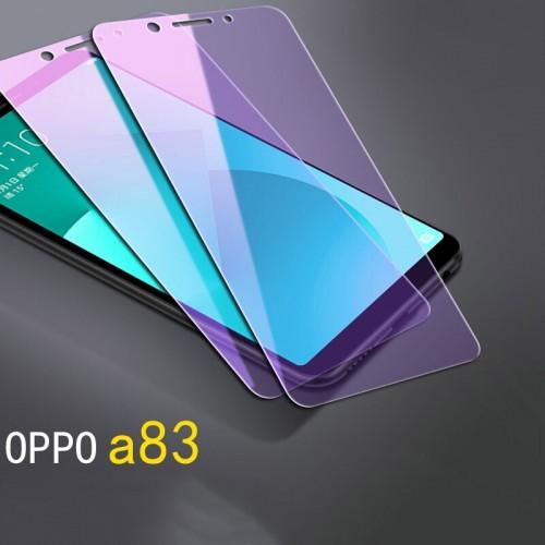 Tempered Glass Oppo A83 / Anti Blue / Anti Radiasi  / Anti Gores Kaca