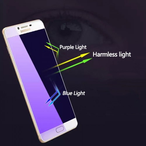 Tempered Glass Samsung Galaxy A6 Plus / Anti Blue / Anti Radiasi  / Anti Gores Kaca