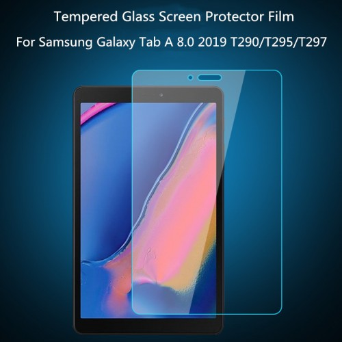 Tempered Glass Samsung Tab A 8 Inch 2019 Lite T290 T295 Anti Gores Kaca STD Tablet Screen Protector