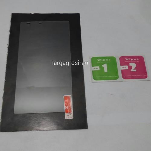 Tempered Glass Std Lenovo A7000 / Anti Gores Kaca - Tidak Ada Garansi Pecah