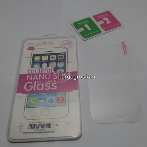 Tempered Glass Std Samsung Galaxy S4 / Anti Gores Kaca - Tidak Ada Garansi Pecah