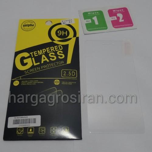 Tempered Glass Std Xiaomi Mi4i / Anti Gores Kaca - Tidak Ada Garansi Pecah