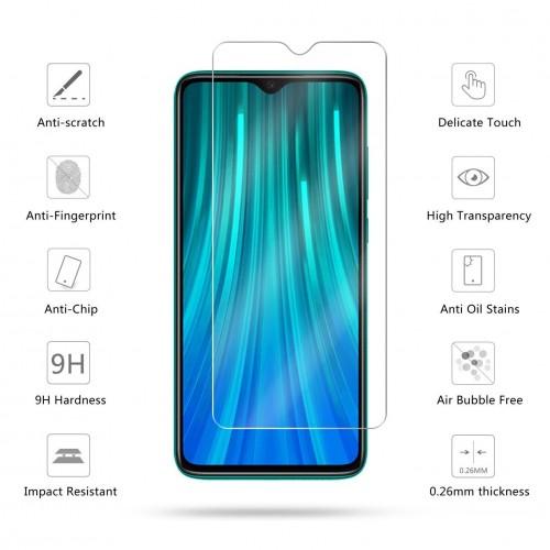Tempered Glass Std Xiaomi Note 8 / Anti Gores Kaca - Tidak Ada Garansi Pecah