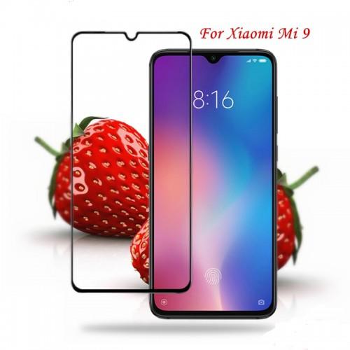 Tempered Glass Xiaomi Mi 9 / Full Body / Full Lem Anti Gores Kaca