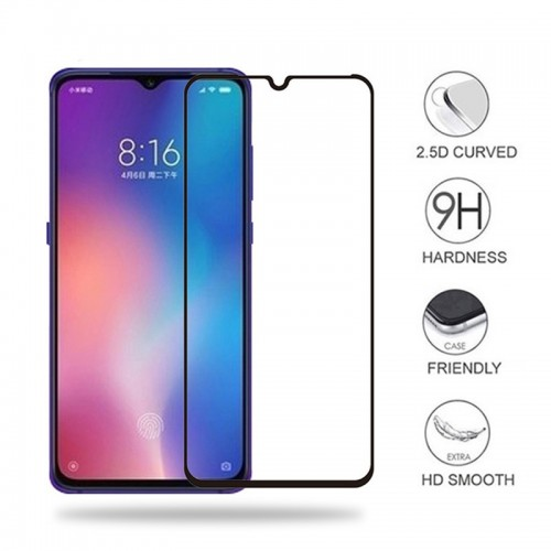 Tempered Glass Xiaomi Note 8 / Full Body / Full Lem Anti Gores Kaca