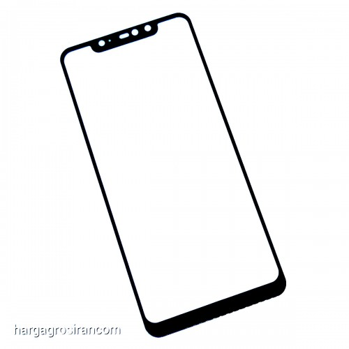 Tempered Glass Xiaomi Note 6 Pro / Full Body / Full Lem Anti Gores Kaca