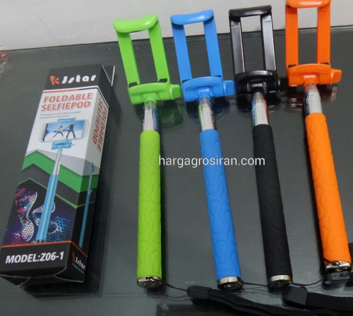 Tongsis KJStar Monopod / Tongkat Narsis + Holder Phone