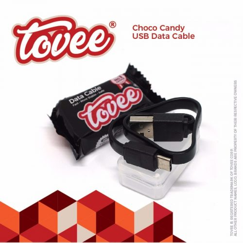 Tovee™ Choco Type C USB Data Cable - 25cm 1 Toples 30pcs 330.000