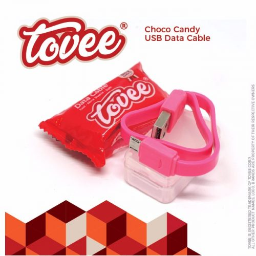 Tovee™ Choco Micro USB Data Cable - 25cm 1 Toples isi 30pcs 180.000