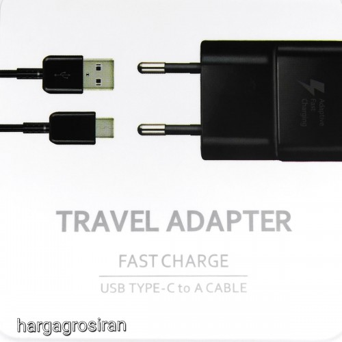 Travel Adapter Samsung Galaxy USB Type C To A Cable