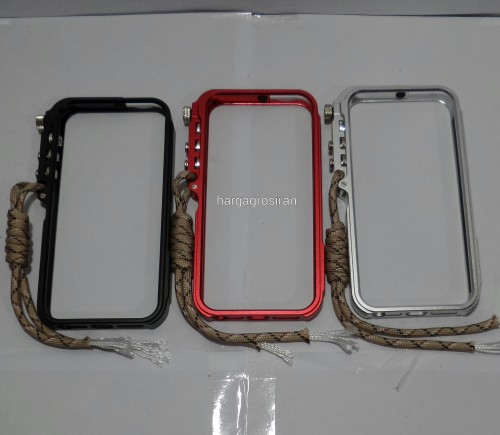 Trigger Bumper Metal Aluminium Case Iphone 5 / 5s - STGRS