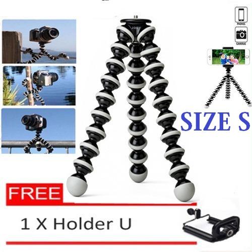 Gorillapod Ukuran S Tripod Cumi Flexible Smartphone / Digital Camera / Sambung ke Tongsis