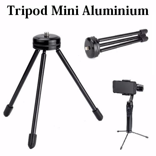 TRP-001 Tripod Monopod Aluminium Mini Stabil Kuat Bisa buat Gimbal Gopro Stabilizer Besi Kecil