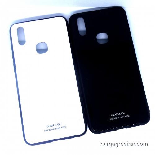 Vivo V11i - Glass Case / Design Bahan Tempered Full Cover / Lebih Elegan dan Simple