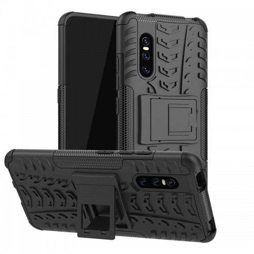 Vivo V15 Pro - Rugged Armor Stand / Hybrid / Dazzle Cover / Shockproof