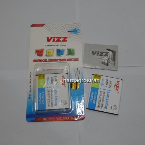Vizz Andromax E2 - Baterai Double Bergaransi