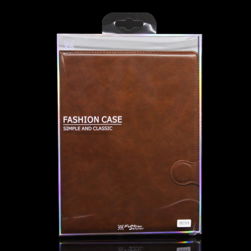 Ipad 2/3/4 Sarung Tablet Kulit FS Leather Case Blue Moon Kancing dan Pinggiran Jahitan Cover