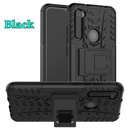 Xiaomi Note 8 - Rugged Armor Stand / Hybrid / Dazzle Cover / Shockproof
