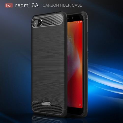 Xiaomi Redmi 6A - Rugged FS Delkin - Carbon Fibre Case Slim Rugged Armor ShockProof / Rubber
