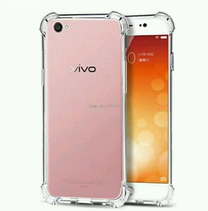Anti Crack Fuze Vivo Y71 Bening - Silikon ShockProff / Anti Shock Case
