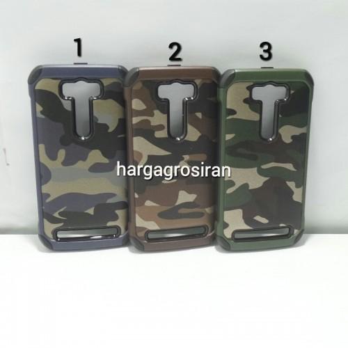 Slim Army Asus Zenfone 2 Laser 5 Inch - Back Case / Cover Armor / Loleng TNI / Abri / Brimob / Tenta