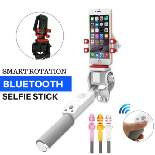Tongsis Bluetooth 360 Derajat Smart Rotation Selfie Stick Remote