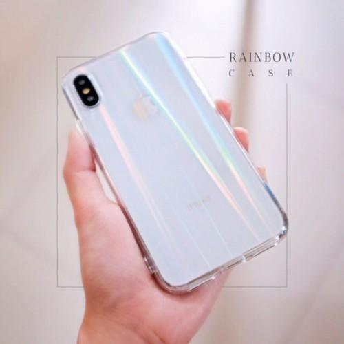 TPU RainBow Oppo A3S - Softshell Bening - Silikon Case - Back Case - Back Cover