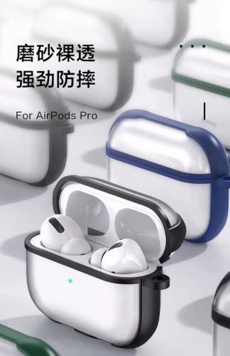 AP-01 Case Airpods Pro Bahan Acrylic Doff Transparan / Earphone Airpods Pro Case Shockproof
