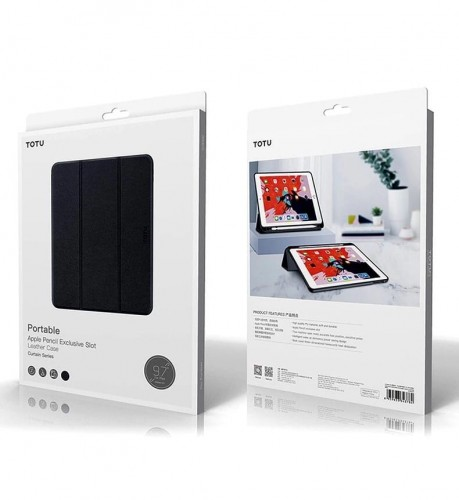Totu Design Leather New Ipad Mini 5 2019 Ukuran Real Flip Case Cover