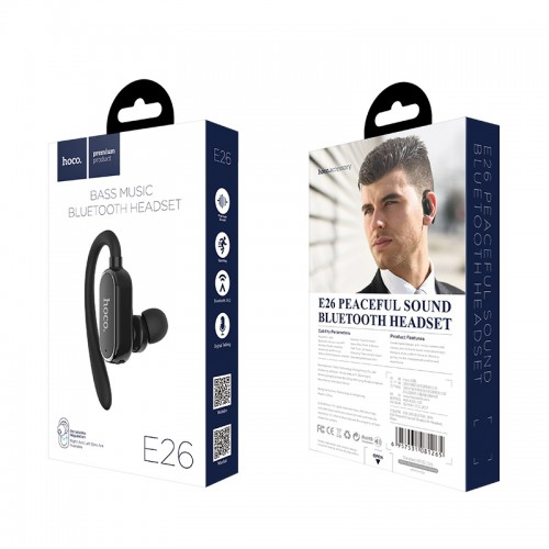 Wireless headset E26 Peaceful sound earphone with mic