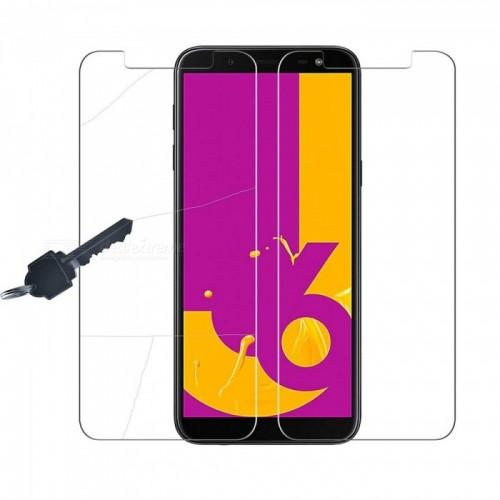 Samsung J6 2018 Tempered Glass FS Anti Gores Kaca Std Premium Screen Guard