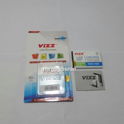 Vizz Blackberry MS-1 / MS1 - blod 9000, onyx 9700, 9780, Onix