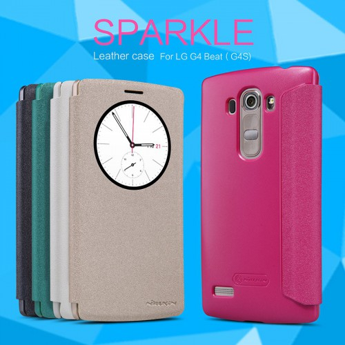 Sarung Sparkle Leather Case LG G4