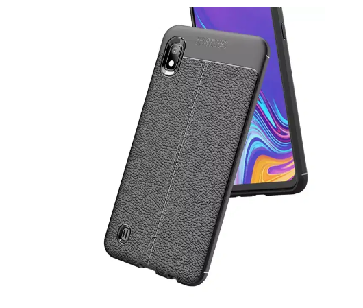 Samsung Galaxy A01 - Case Kulit Auto Focus - Softshell / Silikon / Cover / Softcase