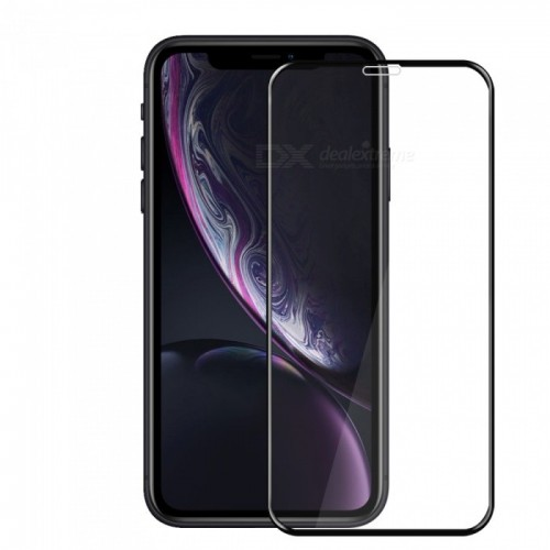 Tempered Glass Iphone XR Full Body / Full Lem Anti Gores Kaca