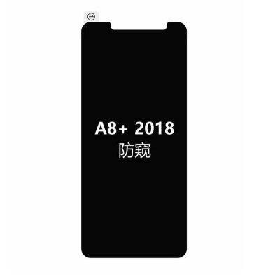 Tempered Glass SPY Samsung Galaxy A8 Plus 2018 / Anti Gores Kaca Private TIDAK ADA GARANSI PECAH